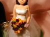 sposi su torta cacciatore