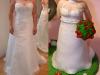 vestito cake topper