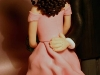 sposi su torta e segnaposto monica