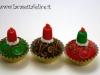 segnaposto natalizi candeline
