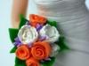 sposi su torta fatti a mano