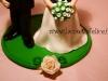 sposini sulla torta elisa e alessio