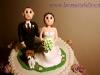 Cake topper Valeria e Alex