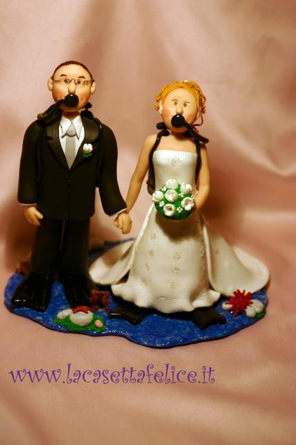 cake toppers subacquei