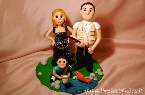 cake topper pescatore
