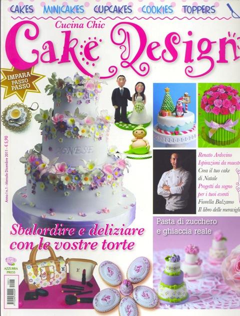 Rivista cake design dicembre 2011