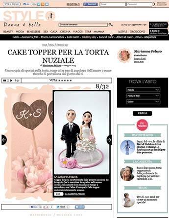articolo cake topper
