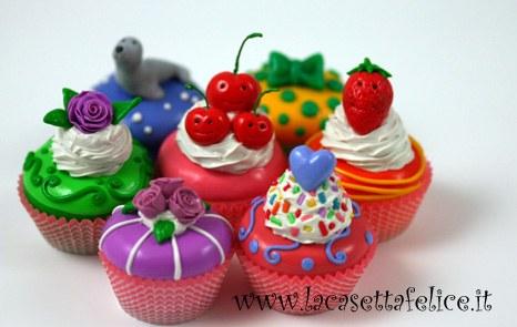 bomboniere cupcakes coloratissime
