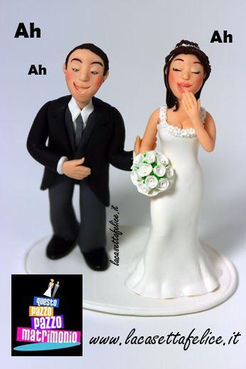 cake topper promo questo pazzo pazzo matrimonio italia 1