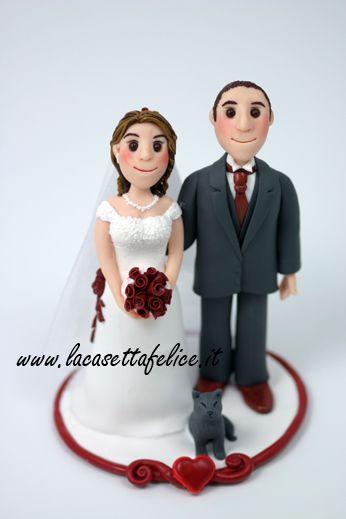 cake topper artigianale