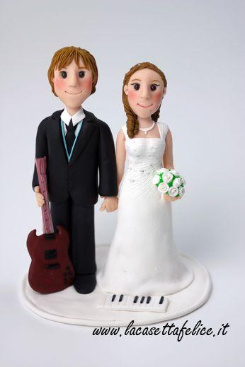 sposi su torta